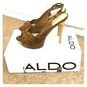 Aldo sling back pumps